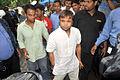 Rajpal Yadav visits Dara Singh's home 03.jpg