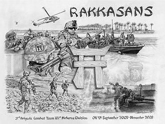 187th Infantry Regiment (United States) - Rakkasans OIF VI 07-08.