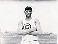 Ralph W. Rose of the Chicago Athletic Association, winner of the Sixteen Pound Shot Put event at the 1904 Olympics.jpg