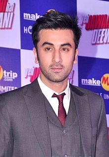 Ranbir Kapoor posing for the camera