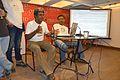 Rangan Datta and Partha Sarathi Banerjee - Interactive Session - Wikilearnopedia - Oxford Bookstore - Kolkata 2015-08-23 3774.JPG