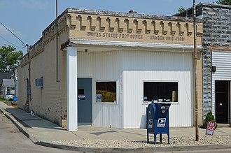 Rawson, Ohio - Post office on Main Street