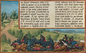 Bohemond III of Antioch - Recovery of the body of Bohemond's father, Raymond of Poitiers, after the Battle of Inab