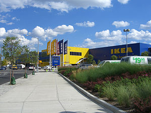English: The Ikea store in Red Hook, Brooklyn.