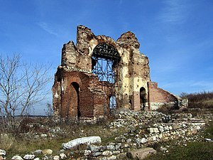 Perushtitsa - The Red Church near Perushtitsa.