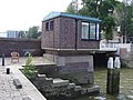 Rederijbrug - Rotterdam - Bridge operator's house and stairs.jpg