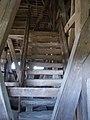 Reformed wooden belfry, stairs, 2017 Nyírbátor.jpg