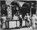 Refreshment stand in New York City where pineapple and orange nectar drinks are sold for 5 cents, 07-1932 - NARA - 541881.tif