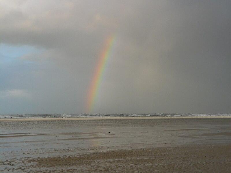 File:Regenbogen über der Nordsee.JPG