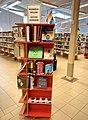 Regnbågshylla på Dorotea bibliotek.jpg