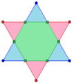 Regular hexagon as intersection of two triangles.png