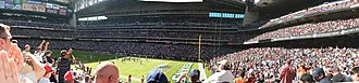 NRG Stadium - Interior of Reliant Stadium during a Texans game