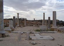 Remains of the Basilica of Justinian in Sabratha - Libya.JPG