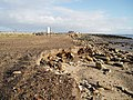 Remains of track outside the sea-wall - geograph.org.uk - 270944.jpg