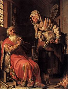Rembrandt - Tobit Accusing Anna of Stealing the Kid - WGA19108.jpg