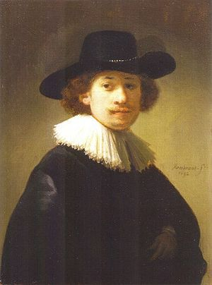 Jacob de Gheyn III - Image: Rembrandt Self portrait 1632