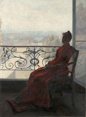 René Schützenberger - Reader at the Window (1890), Soissons Museum