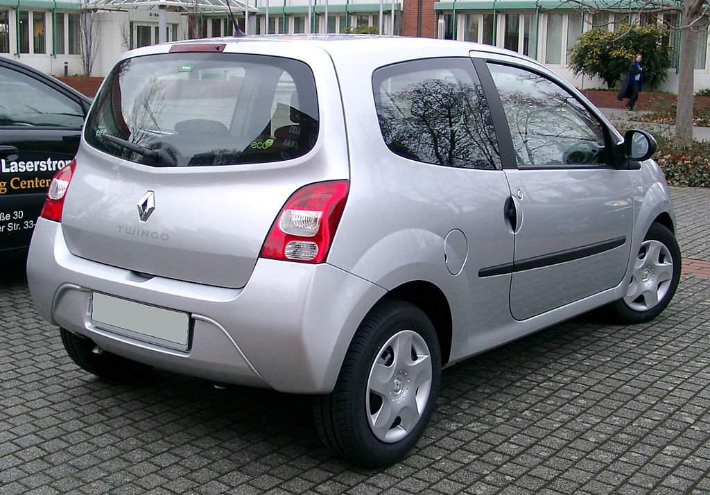 file renault twingo rear wikimedia commons. Black Bedroom Furniture Sets. Home Design Ideas