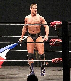 René Duprée - Duprée during American Wrestling Rampage tour.