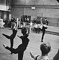 Repetitie Nationaal Ballet Dansscene uit de Etude van Harold Lander, Bestanddeelnr 913-1509.jpg
