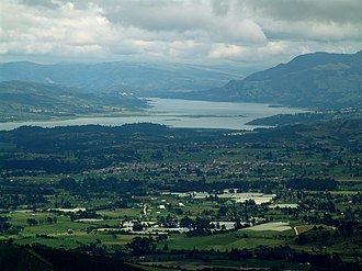 Tominé Reservoir - Image: Represa de Tominé 4