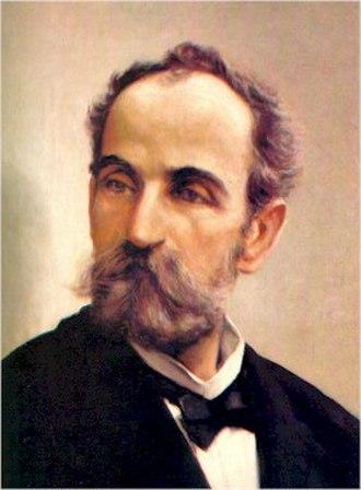 Eugenio María de Hostos - Portrait by Francisco Oller
