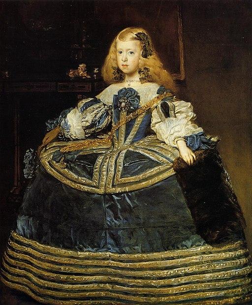 Retrato de la infanta Margarita (3), by Diego Velázquez