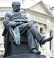 Reverend Dr. Donald McNaughton Stuart statue, Dunedin, New Zealand.JPG