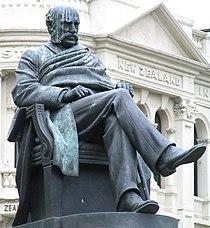 Reverend Dr. Donald McNaughton Stuart statue, Dunedin, New Zealand.JPG