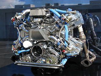 Controlled combustion engine - Revetec X4v2 prototype engine