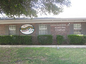 Plain Dealing, Louisiana - Leon Sanders, Jr., Municipal Complex