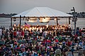 Rhode Island Philharmonic plays at an outdoor concert July 4, 2012.jpg