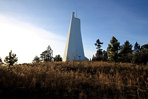 Lincoln National Forest - Richard B. Dunn Solar Telescope, Sunspot, N.M.