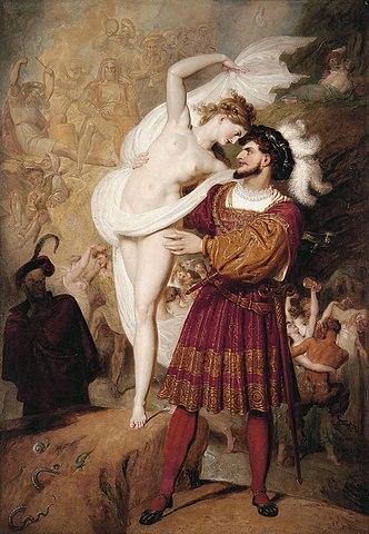 Fausto e Lilith- Richard Westall(1831)- Brainstorm III