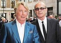 Rick Parfitt and Francis Rossi, Bula Quo, London, 2013 (crop).jpg