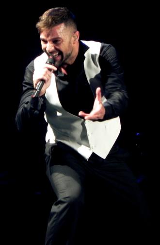 Ricky Martin albums discography - Martin performing during the Música + Alma + Sexo World Tour, April 2011