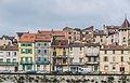 Right bank of Lot River in Cahors 04.jpg