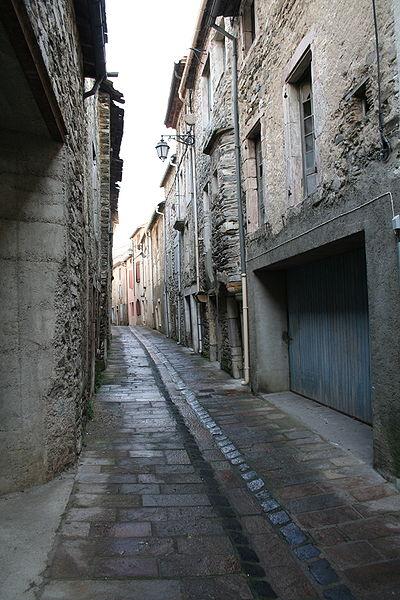 Riols (Hérault) - Rue basse.