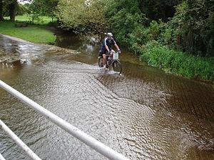 River Stiffkey - Crossing Ford near Great Walsingham