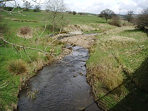 River Don, Lancashire - River Don at Cockden Bridge
