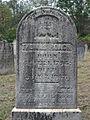 Roach (Thomas), Bethany Cemetery, 2015-10-09, 02.jpg
