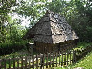 Petar Kočić - The house in which Kočić was born, Stričići