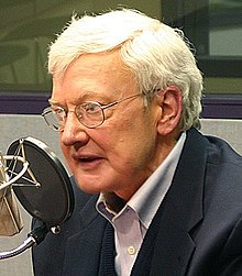 Ebert giving an interview forSound Opinions in 2005