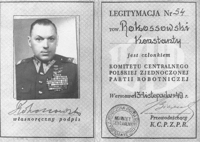 Rokossowski-legPZPR