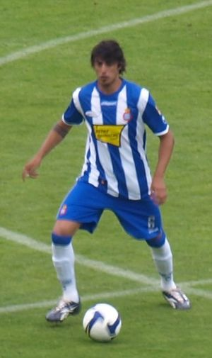 Román Martínez (footballer) - Martínez playing with Espanyol in 2009
