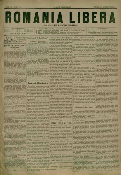 File:România liberă 1885-09-20, nr. 2447.pdf