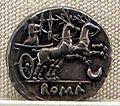 Roma, repubblica, denario di anonimo, 143 ac..JPG
