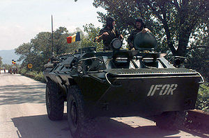 Enlargement of NATO - Image: Romanian Armored Personnel Carrier