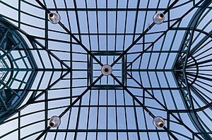 Roof above entrance to Victoria Conference Centre, Victoria, British Columbia, Canada 09.jpg