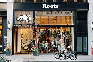 Roots Canada - Roots store on Bloor St. in Toronto